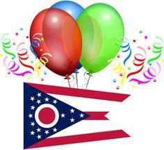 Happy Birthday, Ohio!! March 1, 1803