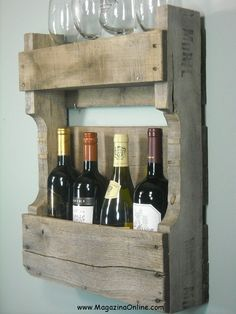 19 Creative DIY Wine Rack Ideas