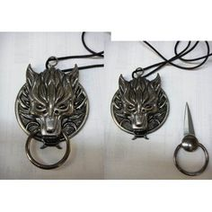 www.bkgfactory.co… Secret Knife | Dragon Head,with Nose ring, HIdden necklace Knife