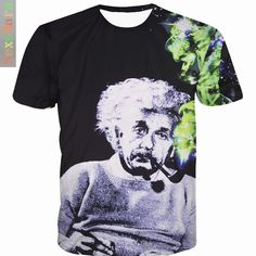 >> Click to Buy << HanHent Comical Albert Einstein T shirt Men 2016 Summer Funny Cotton Top tees Short sleeve The Big Bang Theory T-shirt  #Affiliate