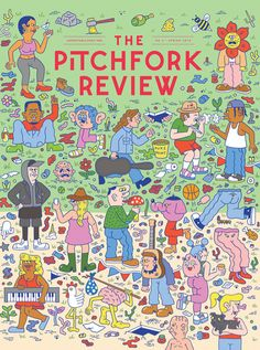 We talk to Kyle Platts about how he designed the cover for the latest issue of the Pitchfork Review!