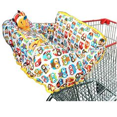 Crocnfrog 2in1 Shopping Cart  High Chair Cover for Baby Free eBook included *** Read more at the image link.