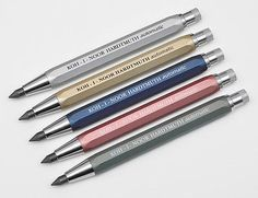 KOH-I-NOOR HARDTMUTH 5640 AUTOMATIC 5.6MM ARTISTS MECHANICAL PENCIL LEADHOLDER in Crafts,Art Supplies,Drafting | eBay