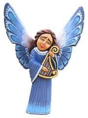 Znalezione obrazy dla zapytania anioły ludowe