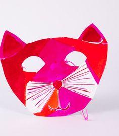 paper cat mask