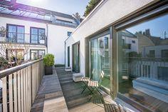 Untergiesing: Neuwertiges Townhaus mit 4 Zimmern, Design-Ausstattung und Dachterrasse in angesagter Lage Details: http://www.riedel-immobilien.de/objekt/3395