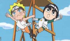 rock lee and his ninja pals - Naruto Spin Off: Rock Lee and His ...