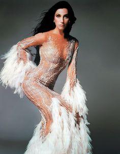 Cher + Bob Mackie = Fashion Cover of Time Magazine shoot - ♥✤#sexy ✿✿ڿڰۣ(̆̃̃-- ♥ NYrockphotogirl