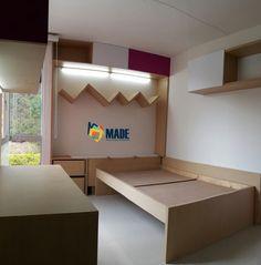 Habitación infantil   Decoración de Interiores   Diseño de Interiores Corner Desk, Furniture, Home Decor, Child Room, Kids Rooms, Interior Design, Style, Corner Table, Decoration Home