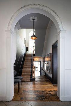 // w o o d Townhouse Interior, London Townhouse, London House, Georgian Townhouse, Dublin House, Dublin Castle, Interior Architecture, Interior And Exterior, Interior Decorating