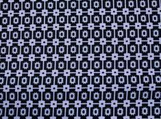 Black & White Santa Fe Linen Swatch #theNAPKINmovement