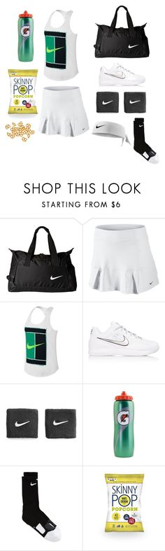 """Tennis workout"" by nike-143 on Polyvore featuring NIKE and Gatorade"