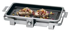 Amazon.com: Cuisinart EGP-18 Electric Nonstick Grill Pan, Stainless Steel: Electric Contact Grills: Kitchen & Dining
