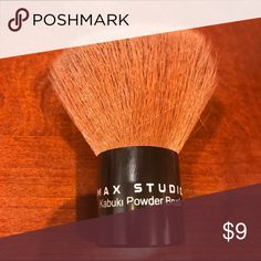 Max Studio Kabuki Powder Brush Brand new condition, only used once.. great for setting you makeup... only listed as Mac for exposure.. Check out my other great makeup items & bundle for a discount!! MAC Cosmetics Makeup Brushes & Tools