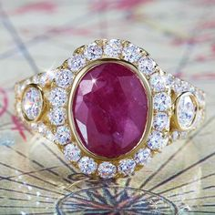 Luxure Ruby Ring w6638 | Stauer.com
