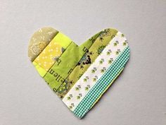 Scrappy Heart DIY by Wise Craft Handmade
