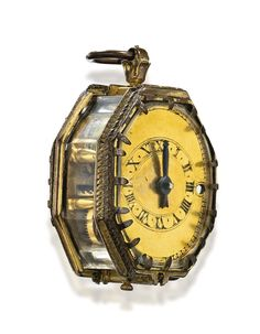 a gilt metal and crystal Old Pocket Watches, Old Watches, Modern Watches, Antique Watches, Watches For Men, Steampunk Pocket Watch, Steampunk Clock, Pocket Watch Antique, Old Clocks