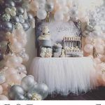 DIY Balloon Arch Kit // Peach Silver White Pink Arch // Stagette Decor // Wedding Balloon Garland // Baby Shower // Party Decor // Birthday - Decoration For Home Balloon Arch, Balloon Garland, Balloon Decorations, Birthday Decorations, Wedding Decorations, Decor Wedding, Diy Wedding, Baby Balloon, Diy Garland
