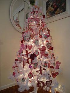 Tammy's Heart: White Valentine Tree