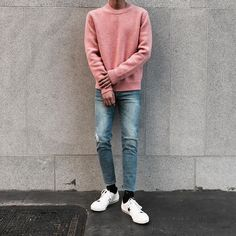 Korean Fashion Trends you can Steal – Designer Fashion Tips Korean Fashion Minimal, Korean Fashion Winter, Korean Fashion Trends, Korean Street Fashion, Boy Outfits, Casual Outfits, Men Casual, Boy Fashion, Mens Fashion
