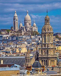 Sacre Coeur, Paris | David Stern Photography