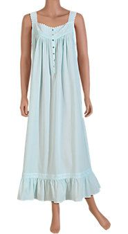 Designed to last, the Spring-Song cotton nightgown and robe will add beauty to your evenings for many seasons to come. Pijamas Women, Nightgown Pattern, Maternity Nursing Dress, Cotton Sleepwear, Cool Outfits, Fashion Outfits, Nightgowns For Women, House Dress, Beautiful Gowns
