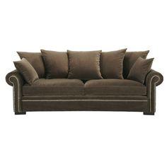 Recamiere ausziehbar  Aubergine velvet daybed   Living Room   Pinterest   Daybed, Relax ...