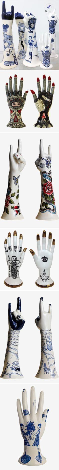 ceramic tattoos by evelyn tannus