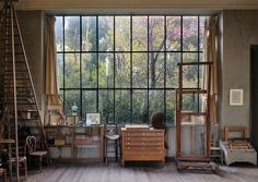 ⭐ All I've ever truly wanted, large studio with big windows! Like I said, Id sell my soul!