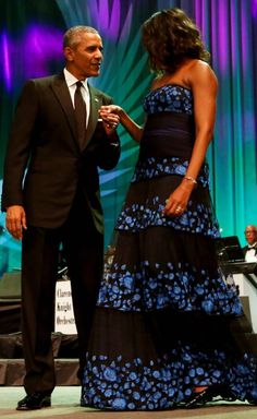 The 44thPresident BarackObama knows how to treat his FirstLady ! #MichelleObama attended the 45th Annual Legislative Conference Phoenix Awards Dinner in September 2015 #ObamaHistory #ObamaLibrary ObamaFoundation Obama.org