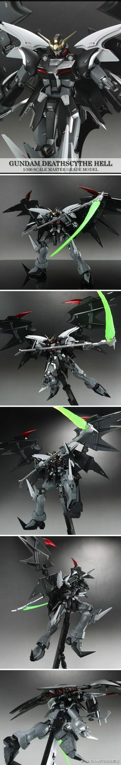 Death Scythe Hell. One of my favorite Mobile suits.
