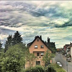 Clouds, too.