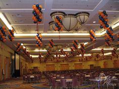 Hanging Balloon Decor for large spaces