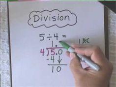 Write Remainders as Decimals