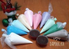 Buttercream Frosting, Icing, Bolu Cake, Resep Cake, Cake Decorating Kits, Cheese Cookies, Brownie Cake, Brownies, Fancy Cakes