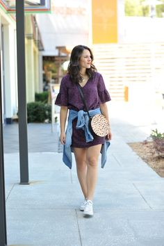 how to style converse with a dress, dressing down a dress - My Style Vita @mystylevita