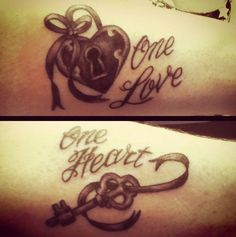 Locks of Love Matching Tattoos - 70+ Lovely Matching Tattoos | Art and Design