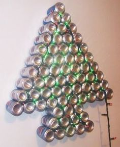 Next years christmas tree.  Lots of beer cans available.
