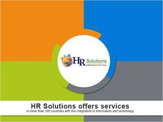 HR Solutions Consulting/Business Services