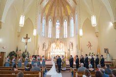Rockford Wedding Photography by Brian Adams; Freeport, IL; beautiful and traditional wedding; St. Joseph Catholic Church