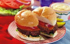 Colby Cheeseburgers & Sauce - The smell of hamburgers on the grill reminds me of happy times with family at Grandma's house.