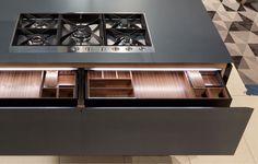 Artex kitchen by Varenna ( Poliform )
