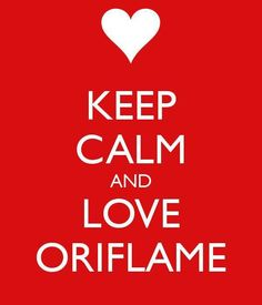 KEEP CALM and LOVE ORIFLAME