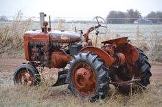 Check out the ice cycles on this Farm-all tractor  11.22.13 Charlie TX, photographer Wendy Coker - Joe Coker's tractor.