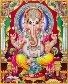 ' Hinduism for Everyone Shri Ganesh, Ganesh Lord, Ganesha Art, Lord Shiva, Jai Hanuman, Ganesh Tattoo, Krishna Radha, Shiva Art, Shiva Shakti