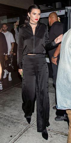 Kendall Jenner en total look Kendall & Kylie