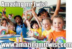 Amazing mr twist | www.amazingmrtwist.com