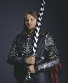 Aragorn son of Arathorn, king of Gondor