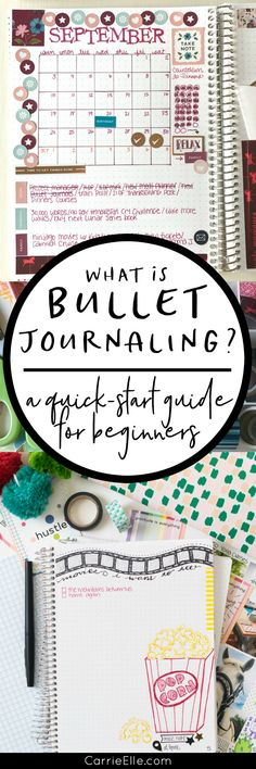 What is Bullet Journaling? Plus a ton of cute page layout ideas. And how to purchase a unique journal to fit your lifestyle.