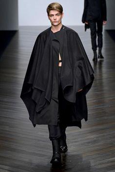Central Saint Martins - Hampus Berggren, Fall 2013, Menswear, Garment, Inspiration, Dark Clash